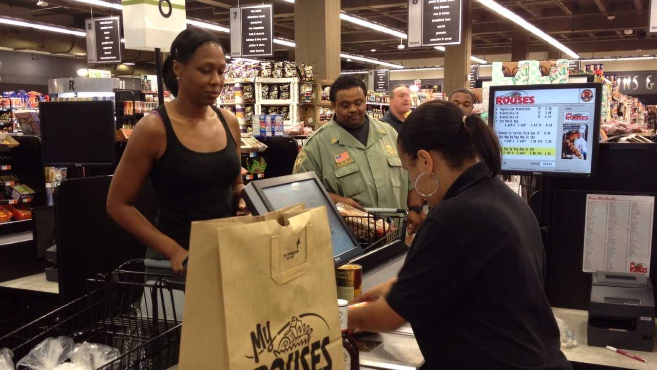 The first signs of a return to normalcy following Hurricane Isaac included the reopening of grocery stores in New Orleans and nearby communities.