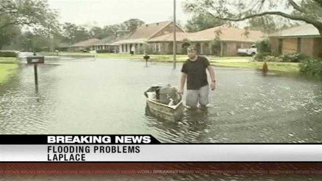 Residents in LaPlace are working to salvage what they can after Hurricane Isaac slammed Louisiana.