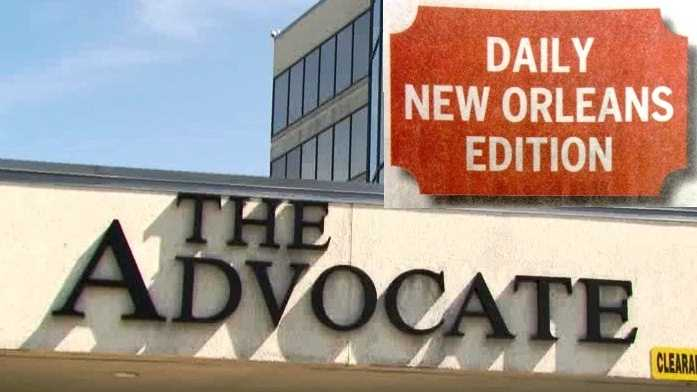 The Advocate began publishing a daily New Orleans edition one week before the Times-Picayune reduced its print schedule.