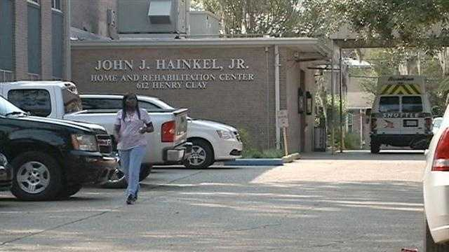The Louisiana Department of Health and Hospitals is trying to shut down the John J. Hainkel Home.