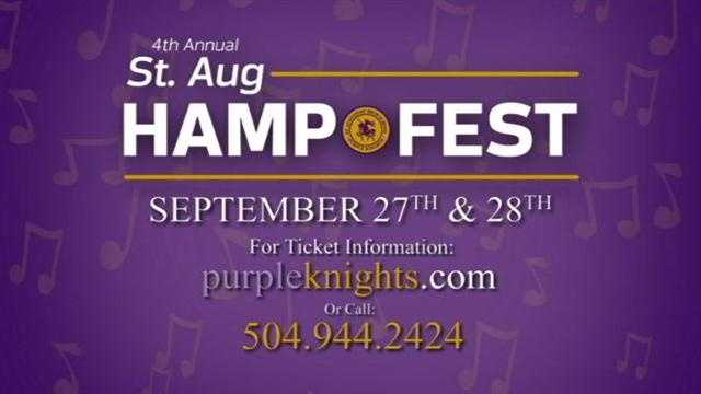 WDSU Reporter Blake Hanson has a preview of Friday's HAMP Fest, which will feature several bug musical performances.