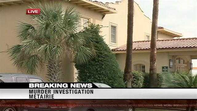Homicide detectives investigating death at Metairie hotel