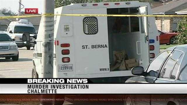 St. Bernard Parish Sheriff's Deputies were on the scene of a murder on Tuesday. One man was killed another shot.