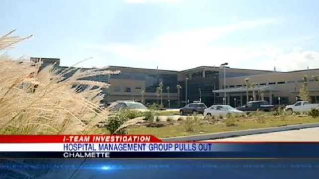 Management company terminates St. Bernard Parish hospital deal
