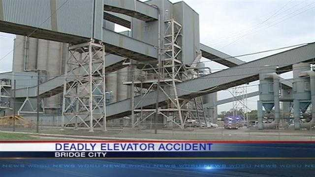 An elevator accident at Cargill Grain in Bridge City kills one employee and injures another.