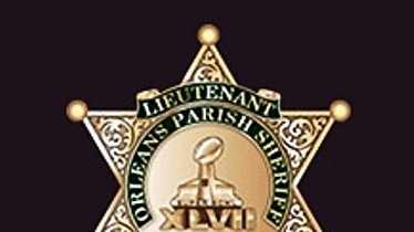 Orleans Parish Sheriff's Office Super Bowl badge