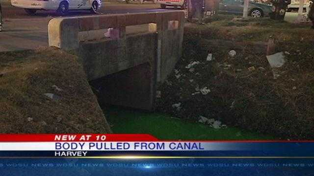 A man's body was found in a canal in Jefferson Parish.
