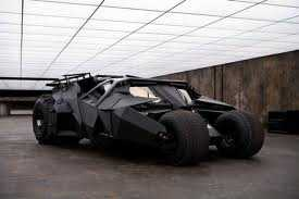 """2005, 2008, 2012 Batmobile """"The Tumbler"""" (Batman Begins, The Dark Knight, The Dark Knight Rises): This incarnation of the vehicle is the only one that has ever been named something other than a Batmobile, i.e. the Tumbler."""