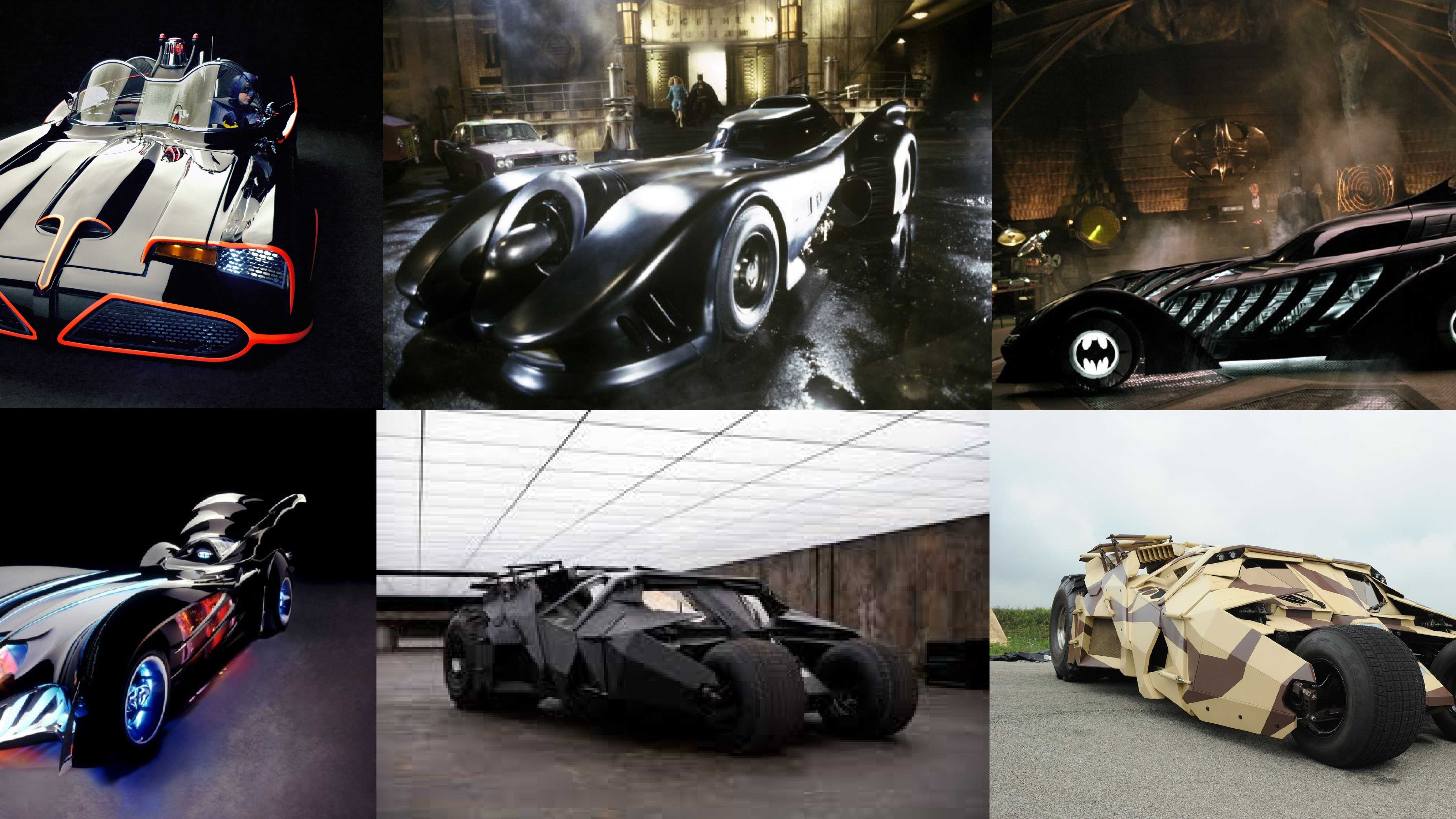 All of the Batmobiles featured in the all of the Batman films will appear at the Superdome Monday, Warner Bros. announced this week. Read the story