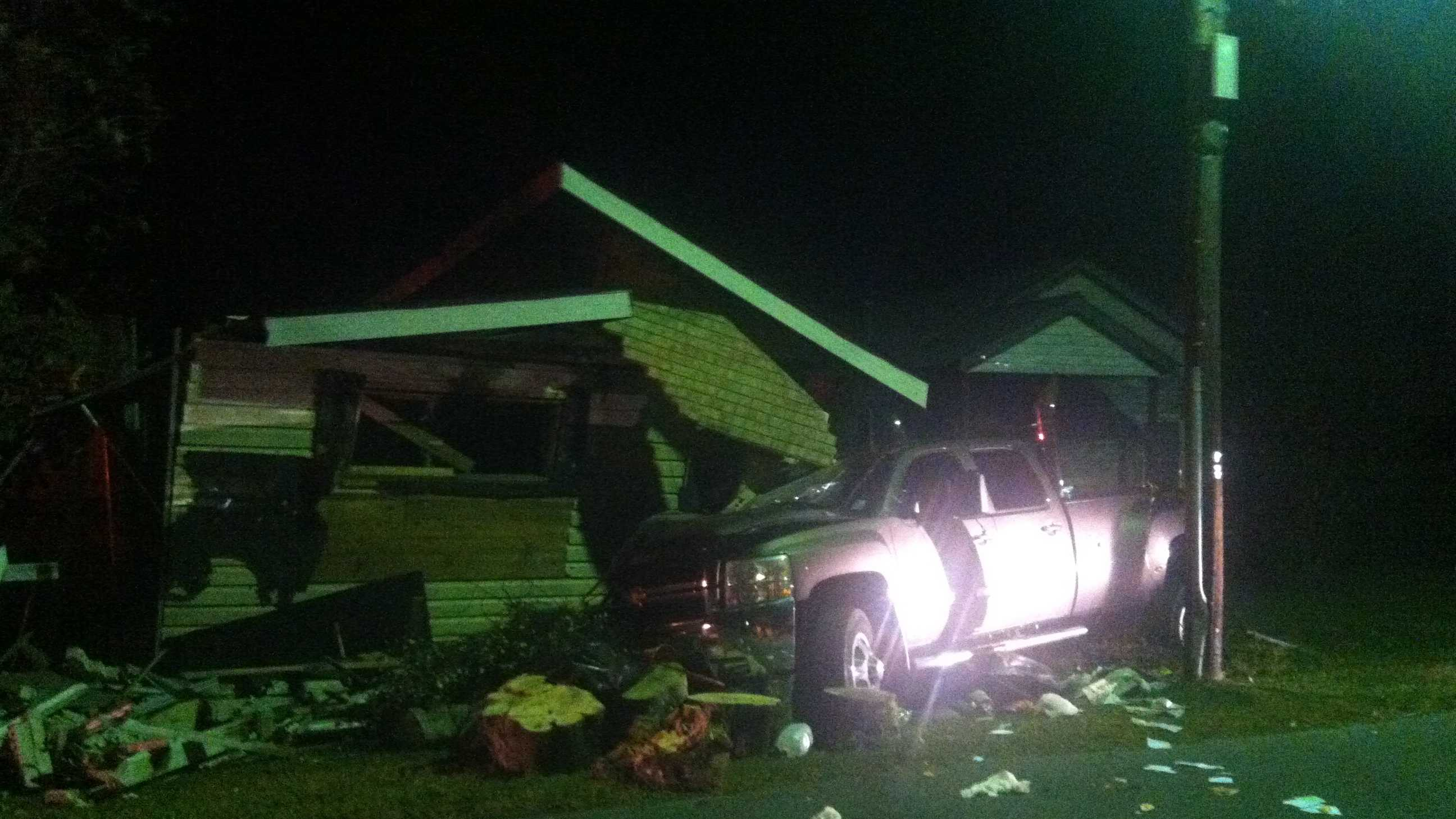 Truck in home scene thibodaux
