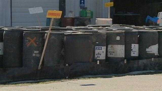 Agencies remove hazardous drums in Louisiana