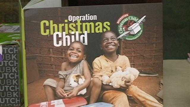While many children in America will get some fancy gadgets and toys for Christmas, children in some of the most impoverished countries won't have some basic items, such as a toothbrush or socks.