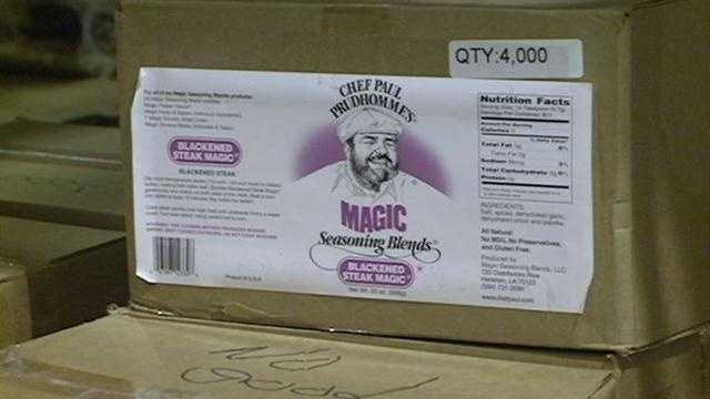 "Paul Prudhomme's ""Magic Seasoning"" factory receives an award for exporting overseas."