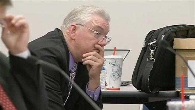 Former teacher defends actions in political cartoon incident