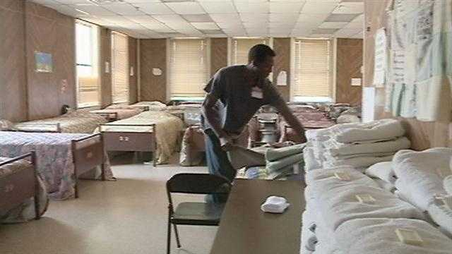 City tries to find beds for the homeless