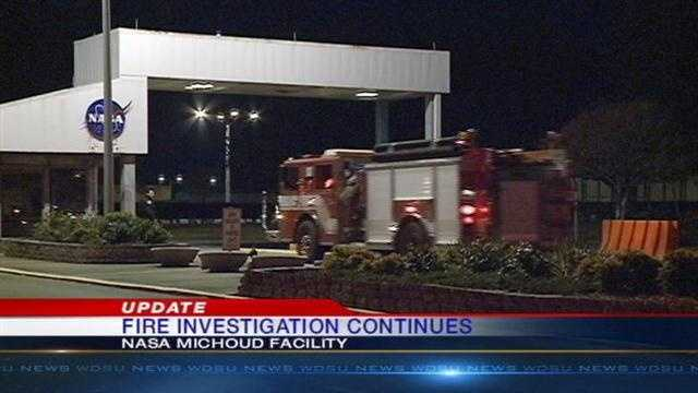 Fire crews battle 3-alarm fire at NASA Michoud Assembly Facility
