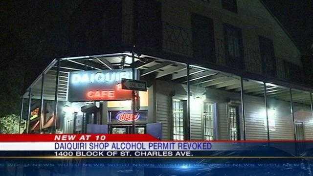 Daiquiri Place Café loses liquor license after 'numerous violations'