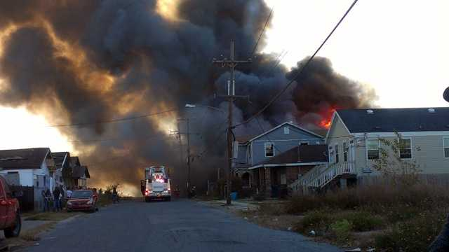 Central City fire