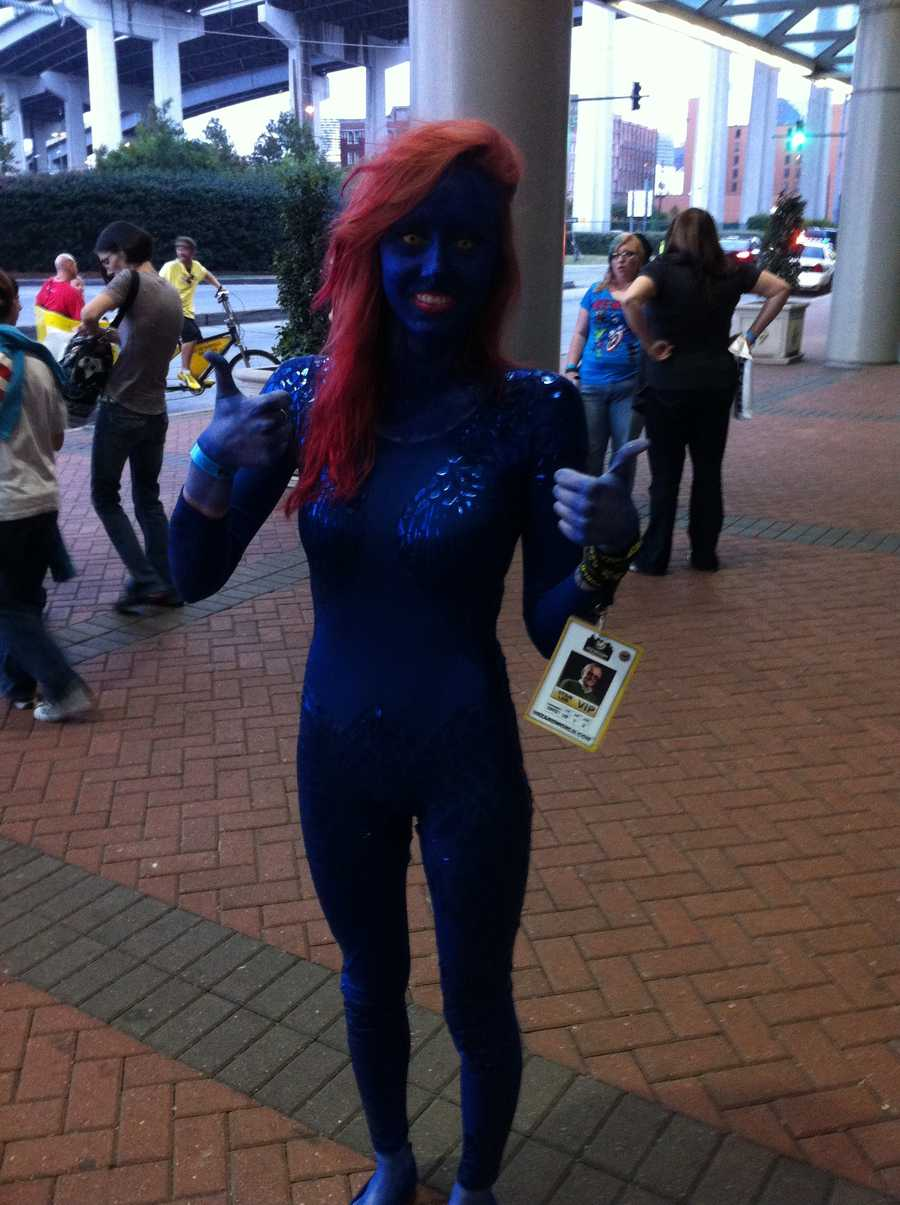 Mystique from the X-Men series.