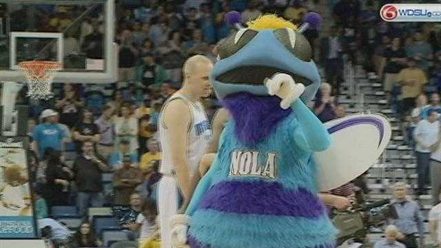 The New Orleans Hornets may take on a new set of wings.
