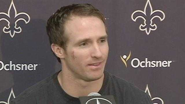 img-Raw Video Drew Brees on Goodell bounty investigation