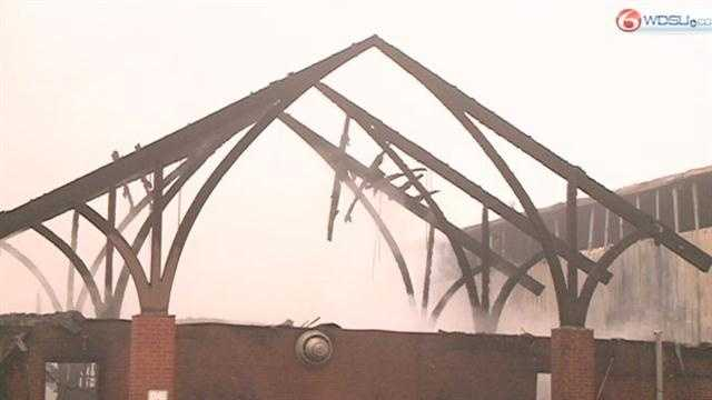 The fire department says they don't know what caused the 102-year-old church in Bogalusa to burn to the ground early Sunday morning.