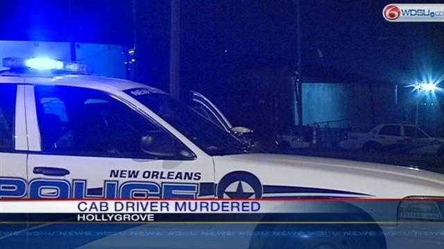 New Orleans police say a Star Cab driver was shot to death around 9 on Sunday night.