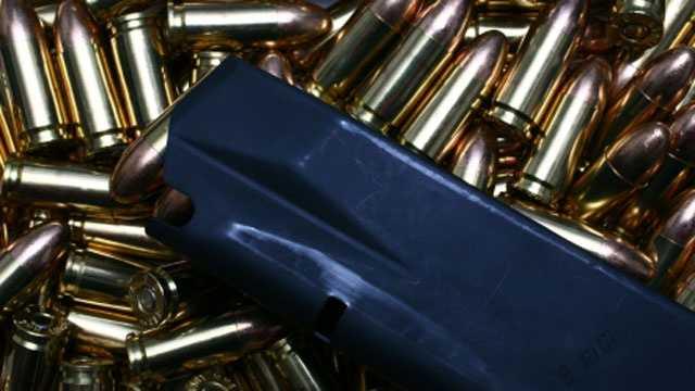 Bullets, gun magazine