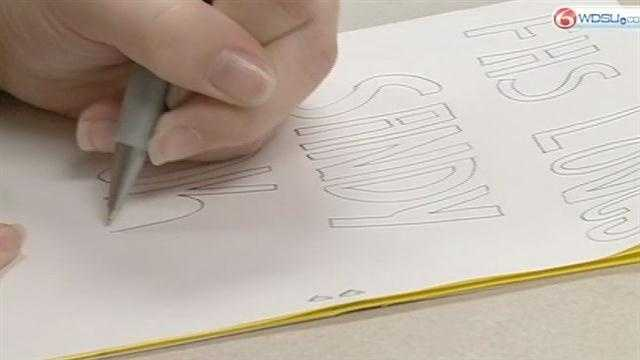 Students at Fontainbleau High School are writing cards and sending books to help Sandy Hook Elementary School students prepare for a new school.