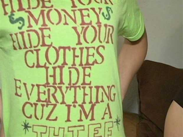 March 13, 2012: When a 13-year-old girl was caught shoplifting a shirt in Marrero, her mother decided she should wear her crime on her sleeve. Read the story