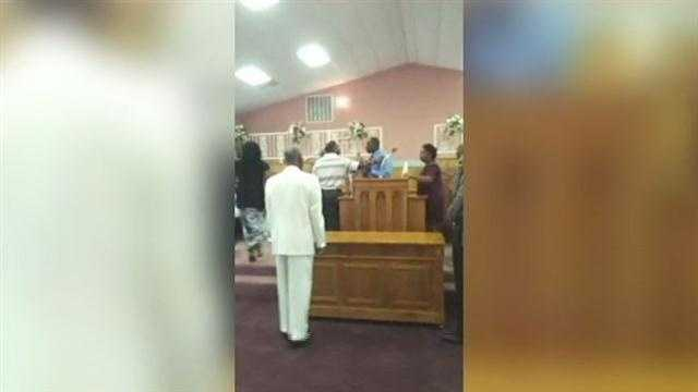 July 31, 2012: A fight over church leadership and finances spilled out of the pulpit and on to YouTube in LaPlace. The fight at the St. Michael Baptist Church was caught on camera and later uploaded to the Internet. Read the story