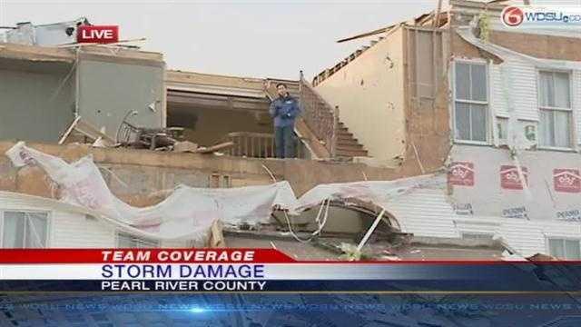Mississippi home destroyed on Christmas