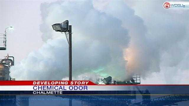 Chemical odor causes problems in St. Bernard Parish