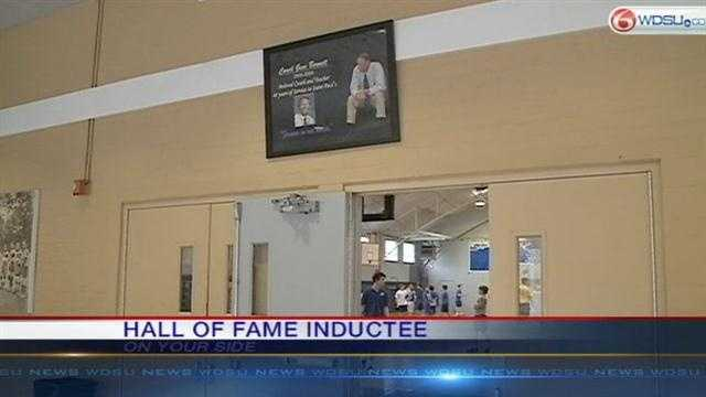 Coaching legend inducted into hall of fame