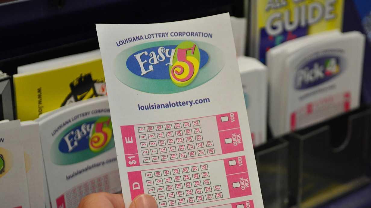 Louisiana Lottery Easy 5