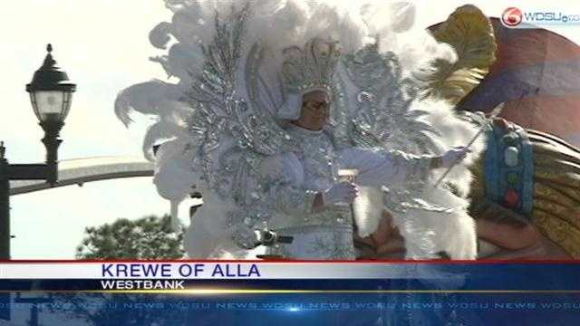 Krewe of Alla rolls on the Westbank.