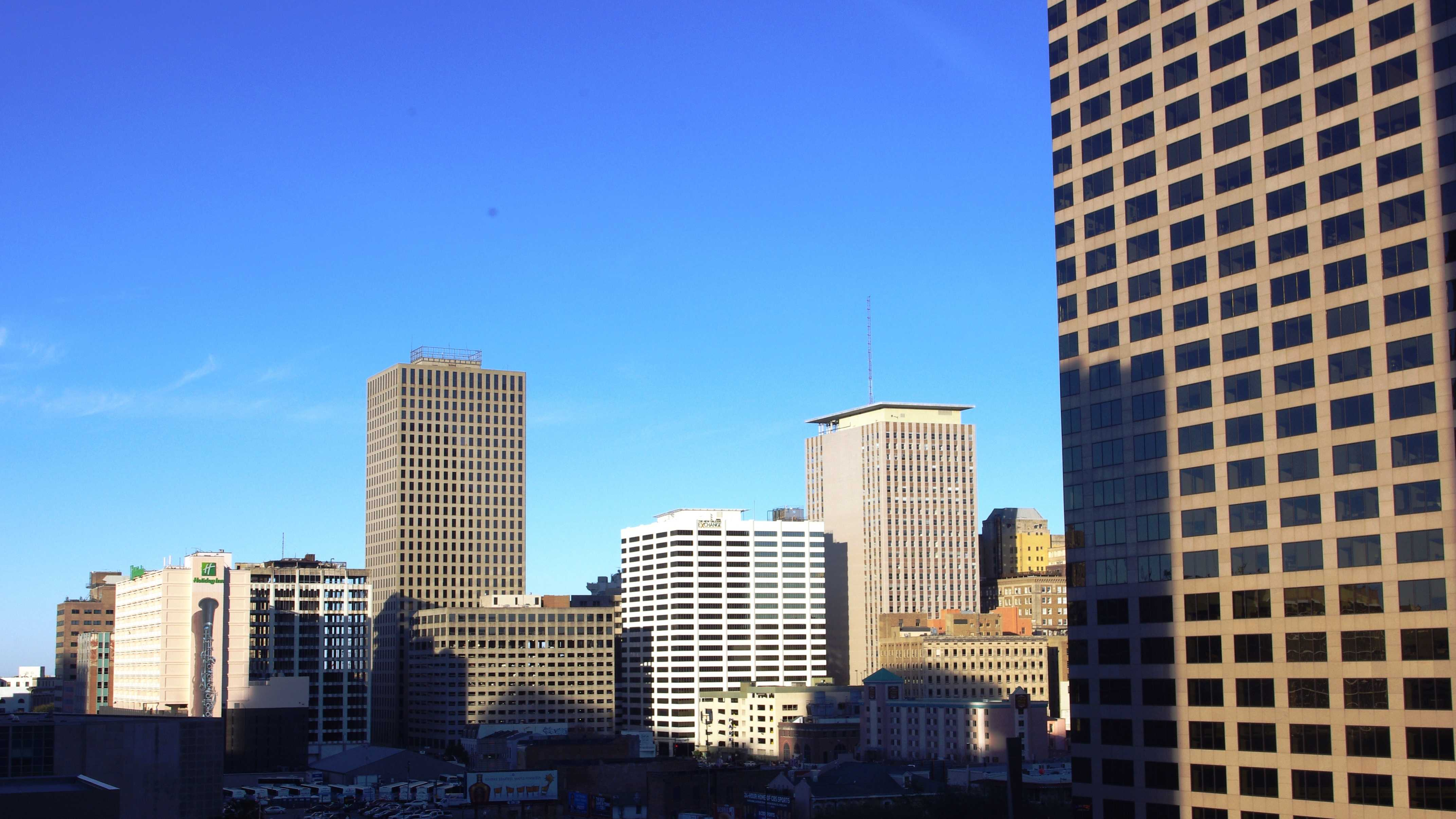 The Central Business District of New Orleans