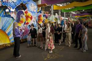 If you want a closer look of Mardi Gras in the making, visit Mardi Gras World, where artists are already working on props and floats for next year's parades!