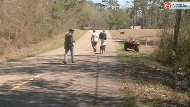 Washington Parish Authorities search for the suspects who shot and killed a dog