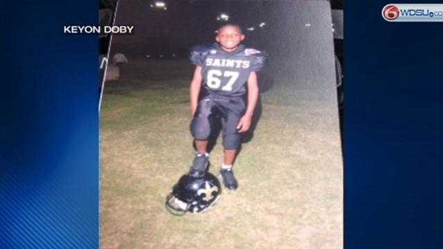The New Orleans Police Department is asking for help in locating 13-year-old Keyon Doby.