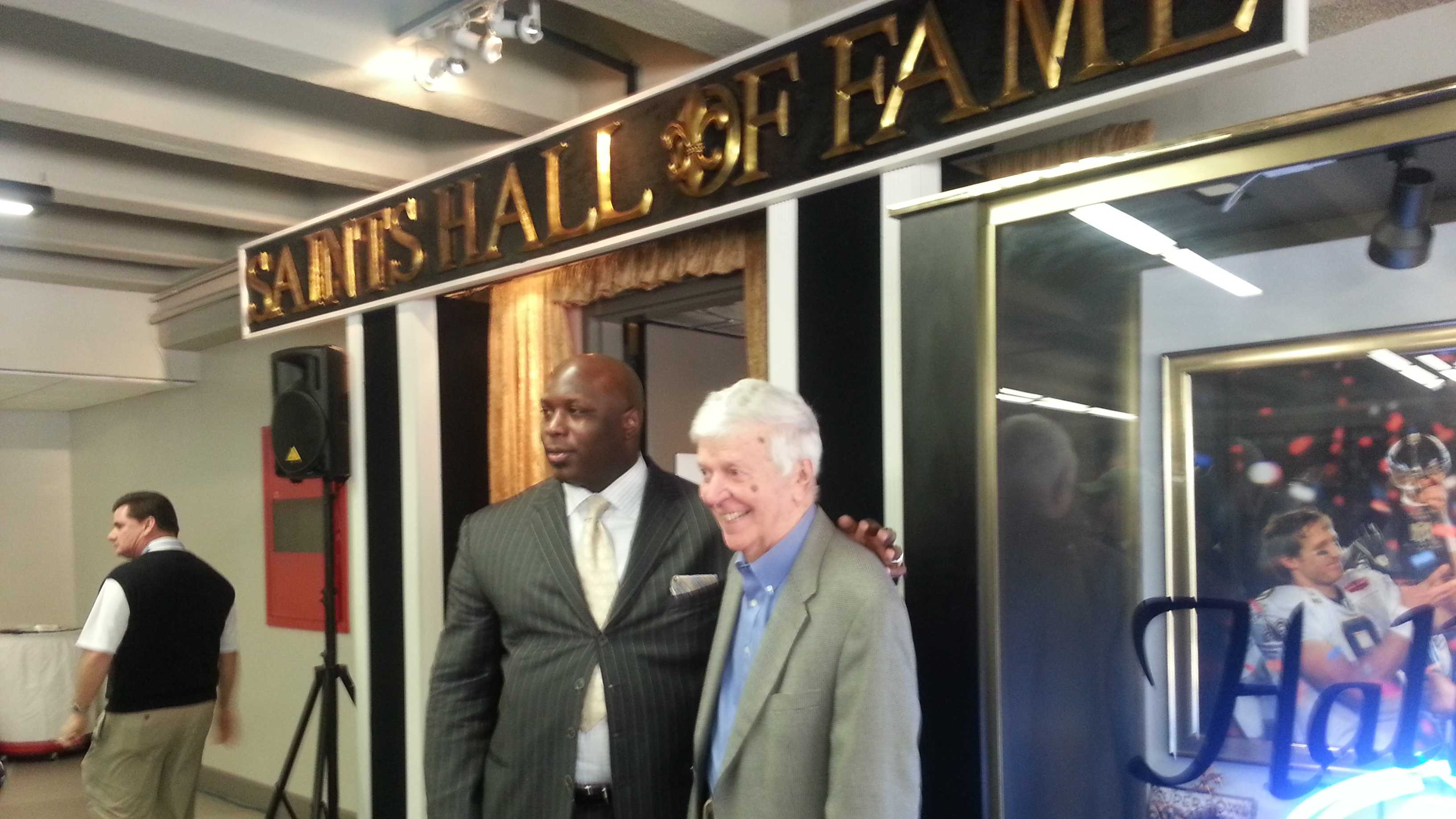 Glover, Finney in Saints 2013 Hall of Fame class