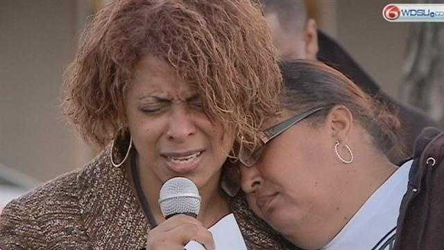Mother of missing teacher questions lack of leads at vigil