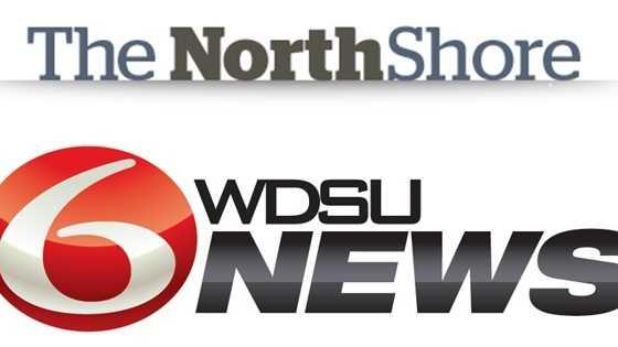 NorthshoreNews.info and WDSU News logos together