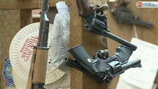 Louisiana lawmaker files gun bill