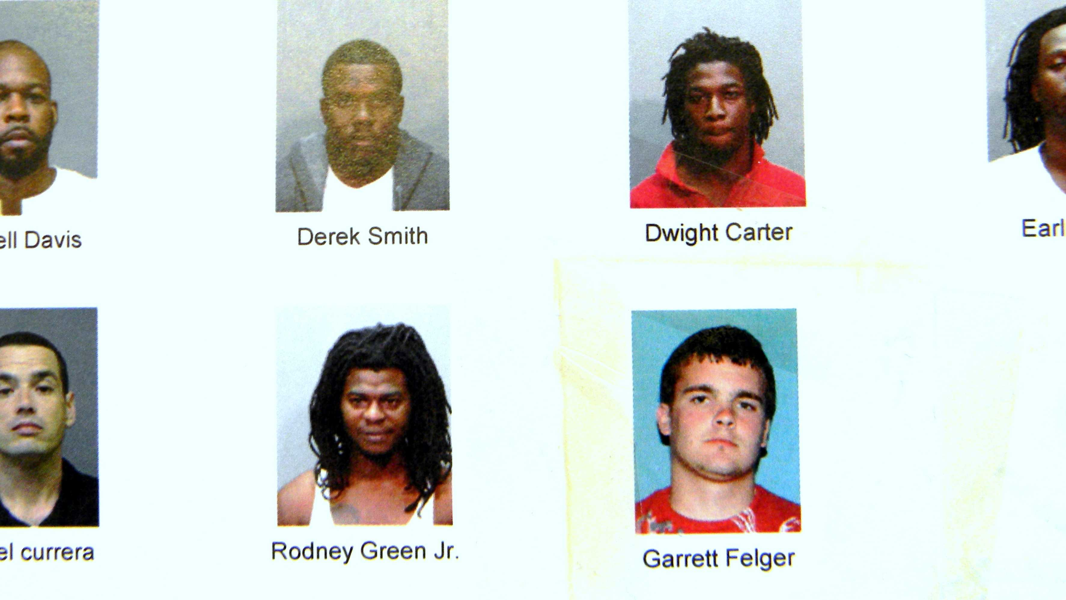 "Seven suspects who remain at large in Phase II of ""Operation Summer Heat"""
