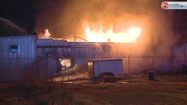 New Orleans firefighters spent most of Tuesday morning battling a 3-alarm blaze in Central City.