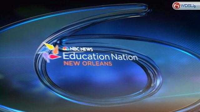 WDSU is partnering with NBC News for two weeks to highlight education across the greater New Orleans area.