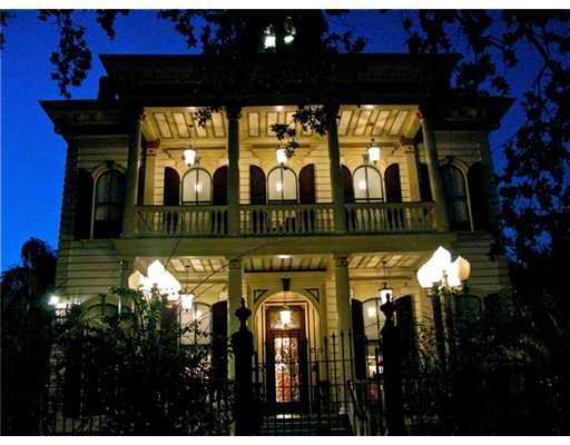 "Exterior front: Beautiful grounds surround this elegant Victorian mansion with grand style that sits on a large corner lot. This magnificent mansion was formerly owned by Anne Rice and was the setting for many novels and ""The Vampire Limo"" which is included in the sale of this home. Beautiful entry which leads into larger center hall with beautiful stained glass windows dating from the 1800's. Remodeled gourmet kitchen & much more to see-call for an appointment."