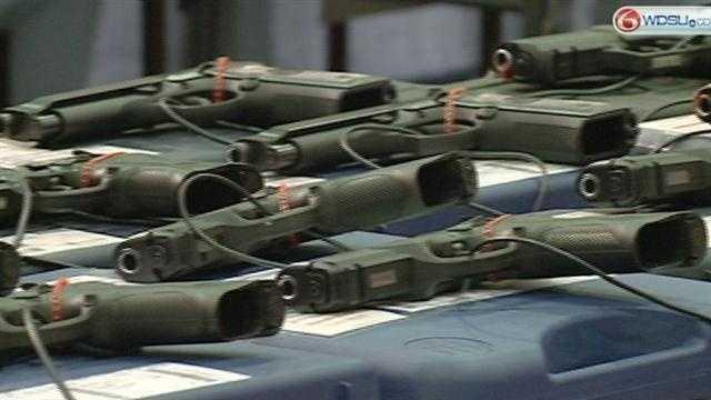 Gun store owners skeptical of pro-gun senators' gun bill
