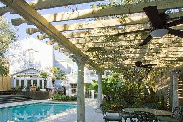Other: Wisteria covered pergola, perfect for relaxing with family & friends.